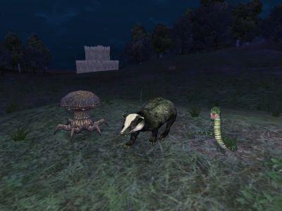 Badger Mushroom Snake2