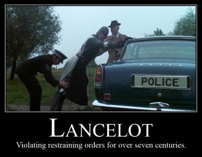 lancelot-demotivator