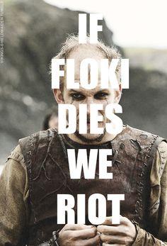 Floki Dies Riot